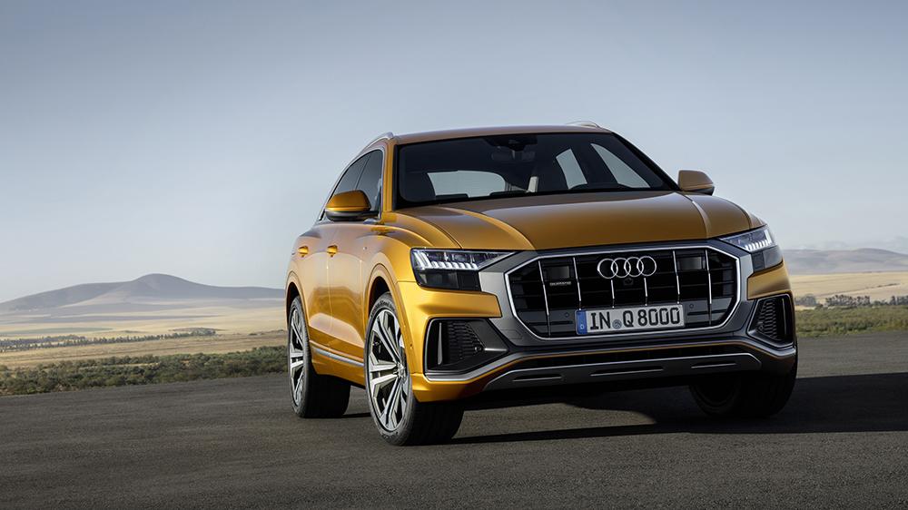 Noul Audi Q8 este mai îndrăzneț