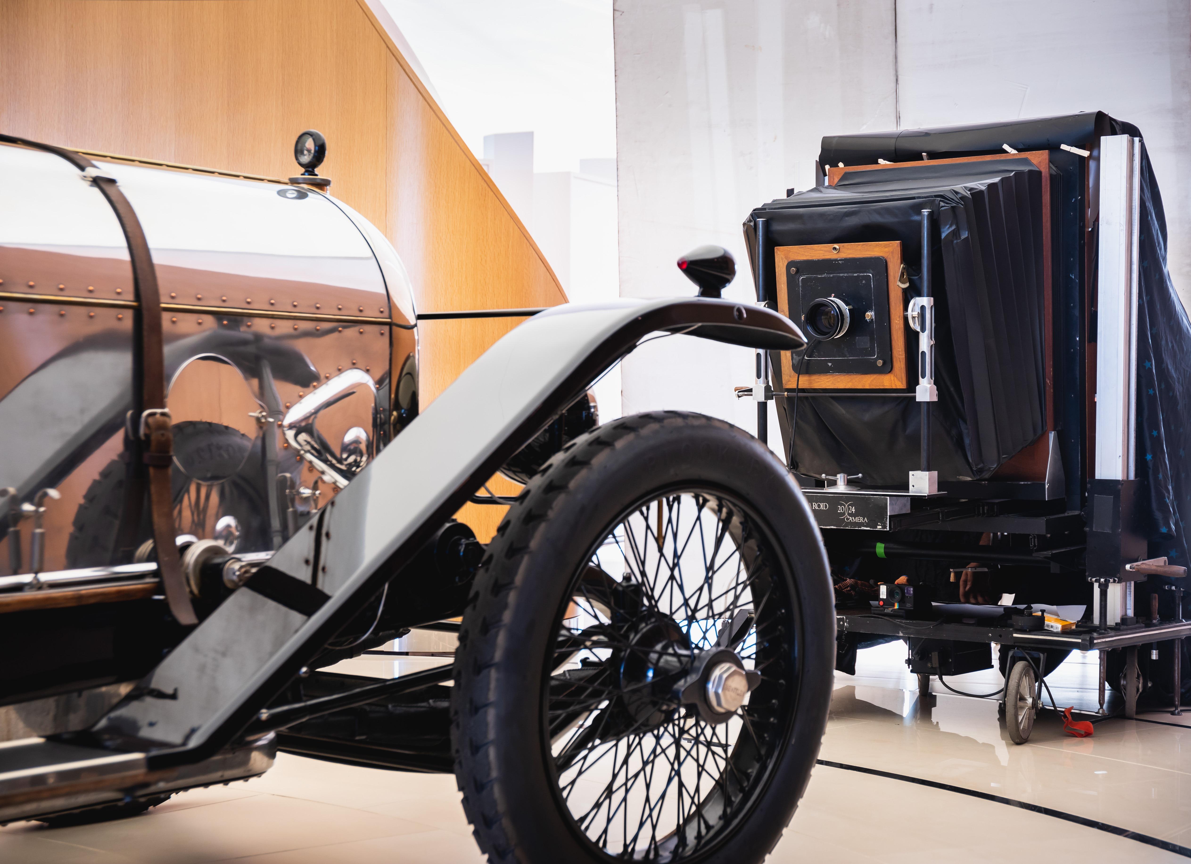 Bentley - Largest Polaroid - Opus - 001