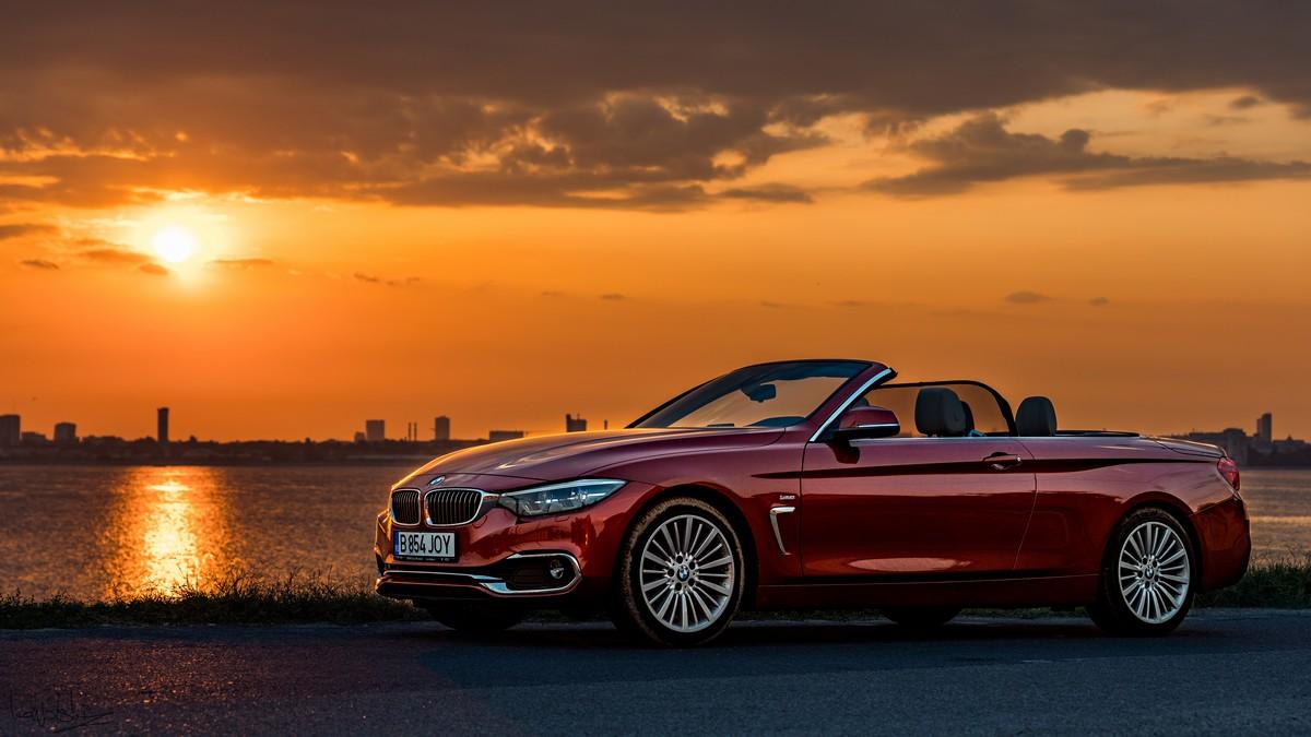 BMW 420i Cabrio este noua pasiune de vară.