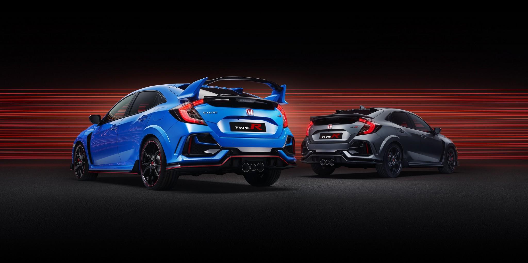 2020 Civic Type R Range - Type R GT & Type R Sport Line