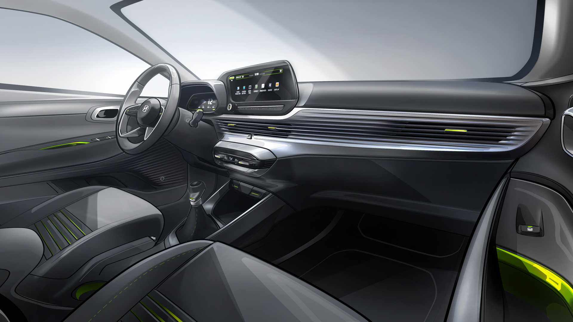 hyundai-i20-interior-sketch