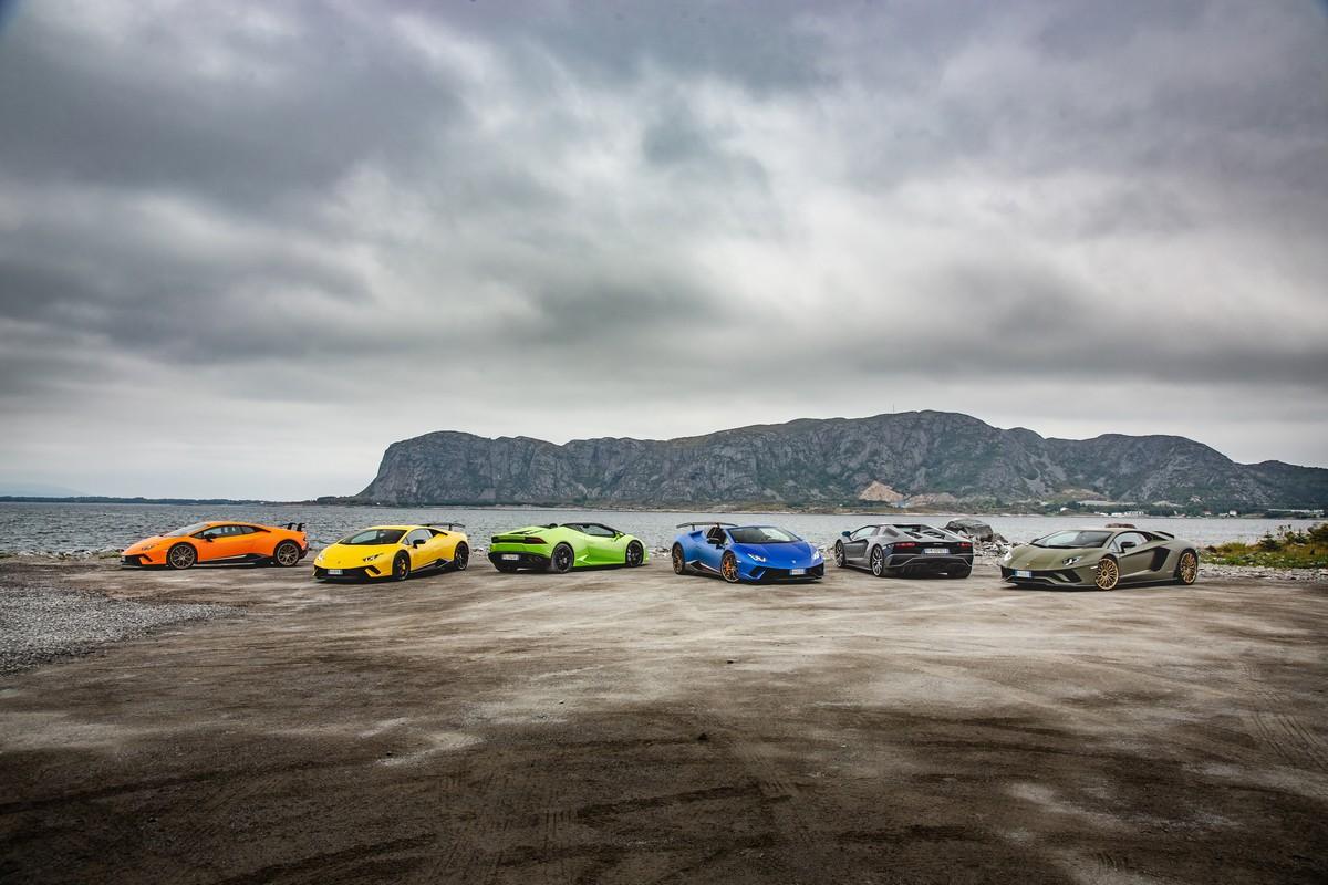 Lamborghini in Norvegia_ 01