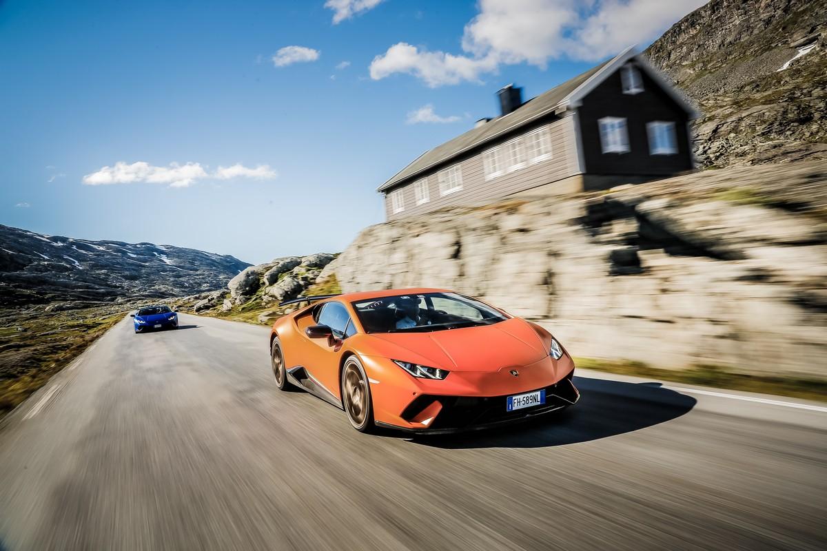 Lamborghini in Norvegia_ 06