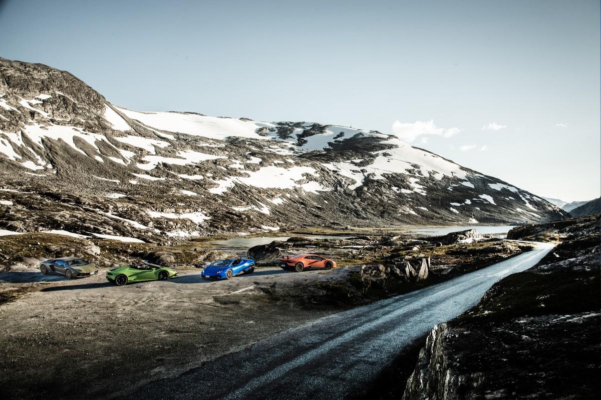 Lamborghini in Norvegia_ 08