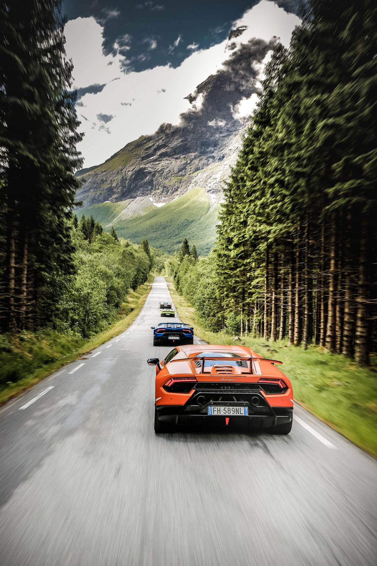Lamborghini in Norvegia_ 12