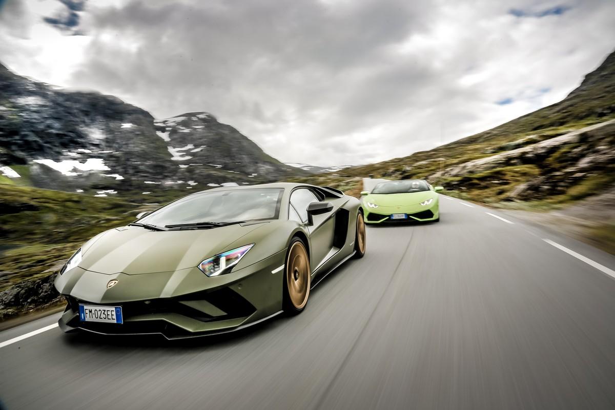 Lamborghini in Norvegia_ 14