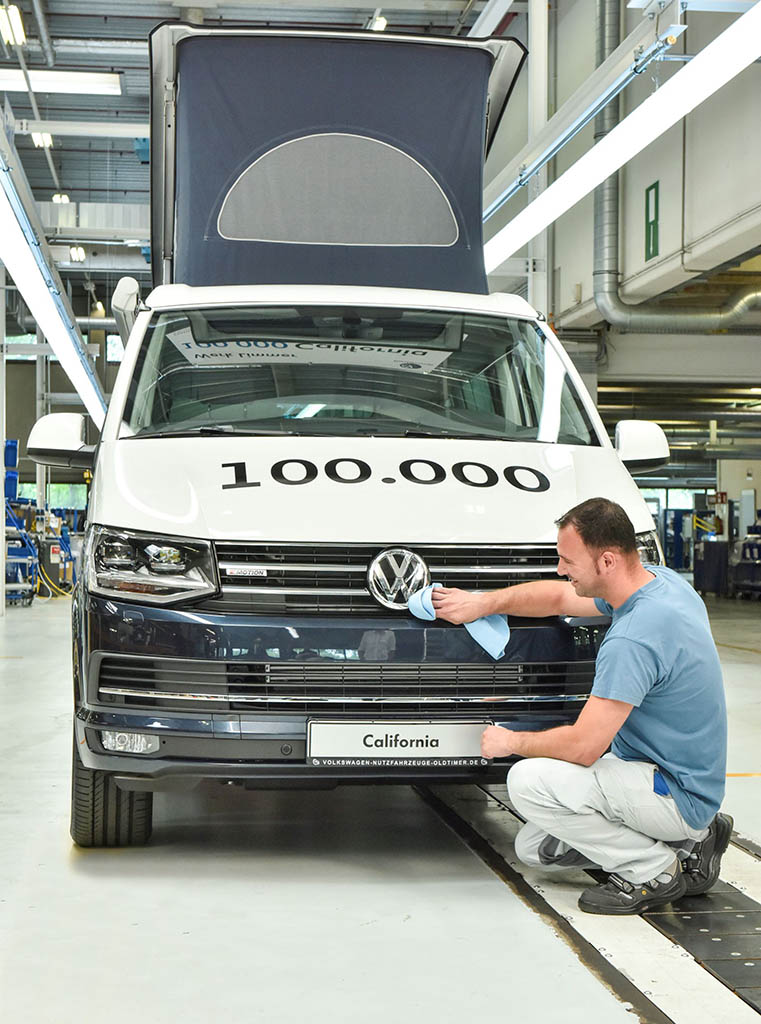Volkswagen California 100.000