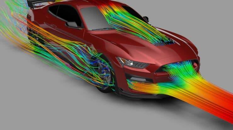 Aerodinamica – sufletul din F8 Tributo & Shelby GT500 (video)