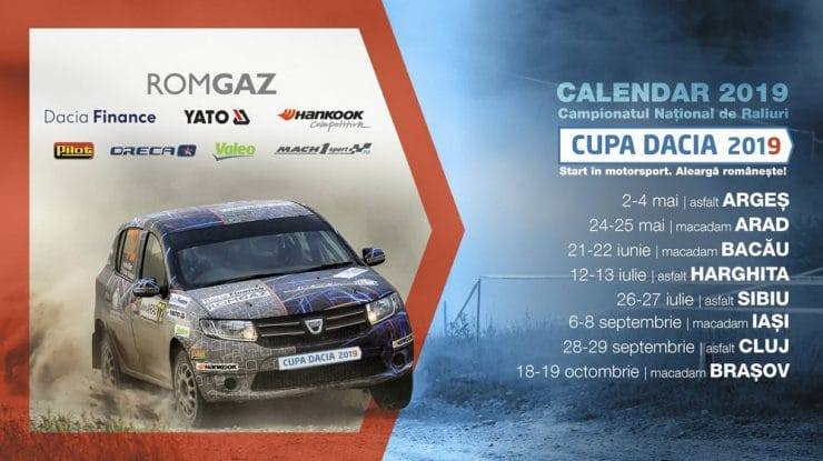 Gaz plin în Cupa Dacia 2019