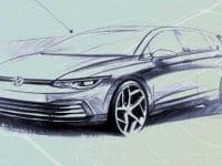 Surpriză! Așa ar putea arăta noul VW Golf