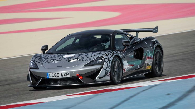 620R, un McLaren de curse scăpat pe stradă (video)