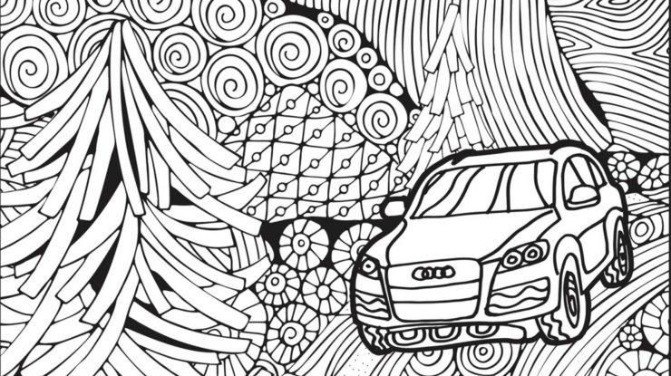 Copii, colorați vesel industria auto (video)