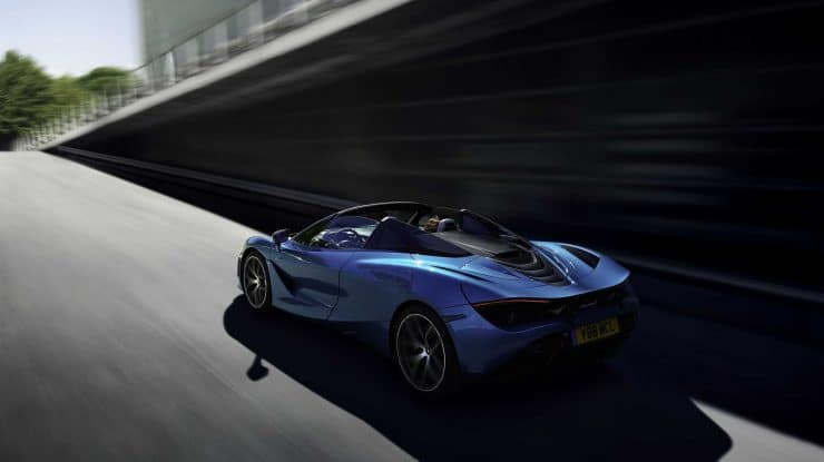 McLaren 720S Spider – Arahnologie britanică (video)