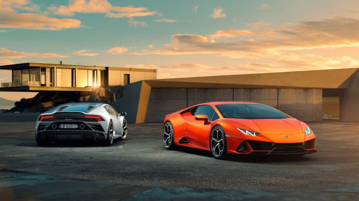 Huracán EVO, Lamborghini Performante de viță standard