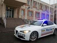 Alfa Romeo Giulia în slujba Poliției Rutiere din Constanța