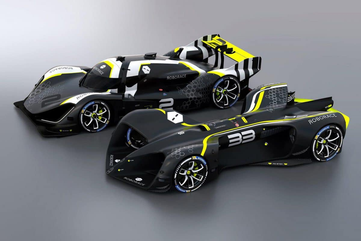 Roborace, sau mai degrabă Albert... Speedtail