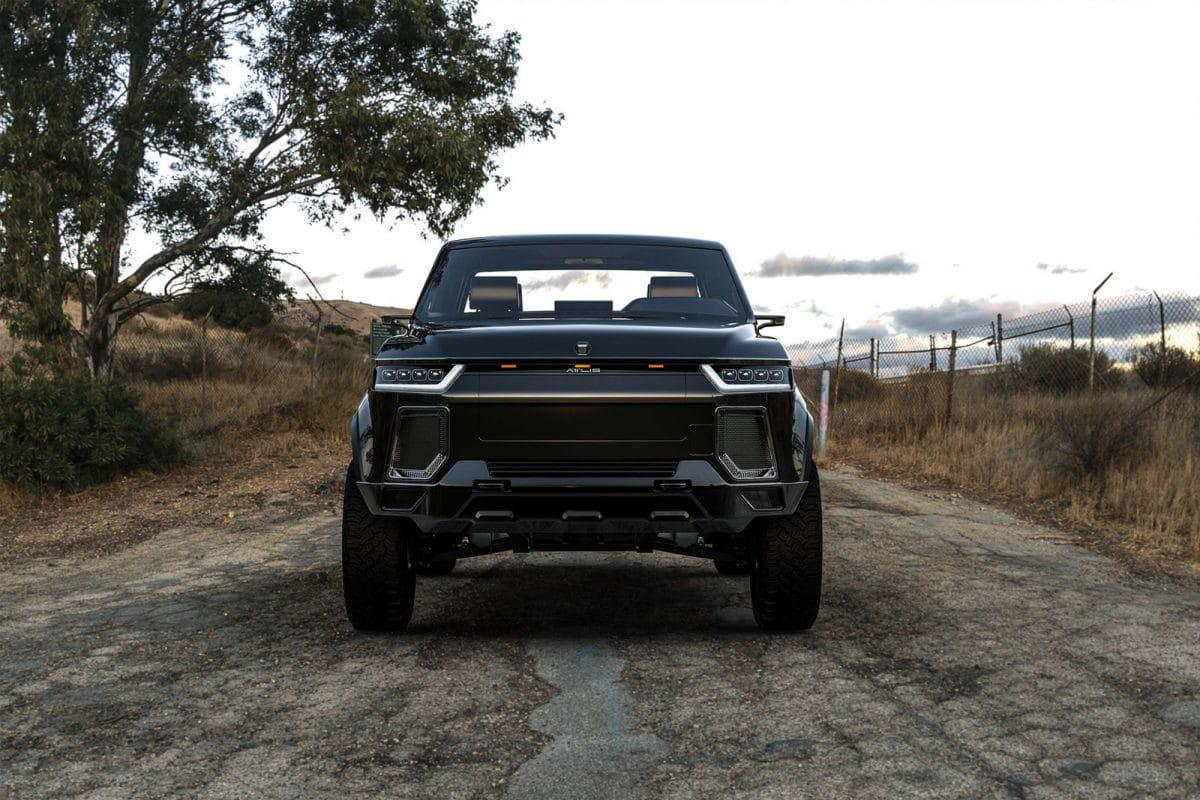 Atlis XT, pickup-ul american electric SF