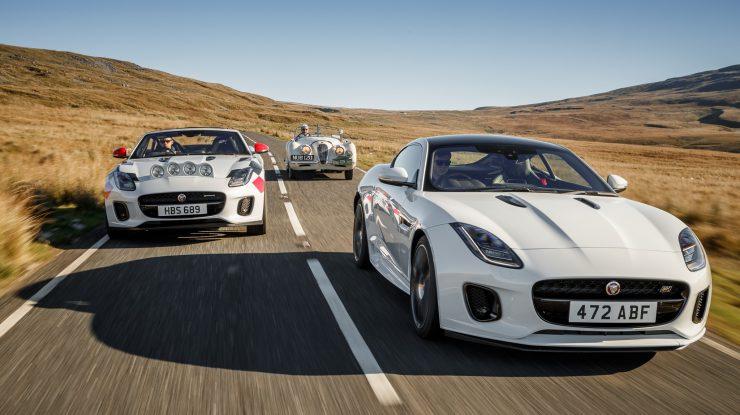 Rally cu F-Type, un sportiv cu ADN de 70 de ani (video)