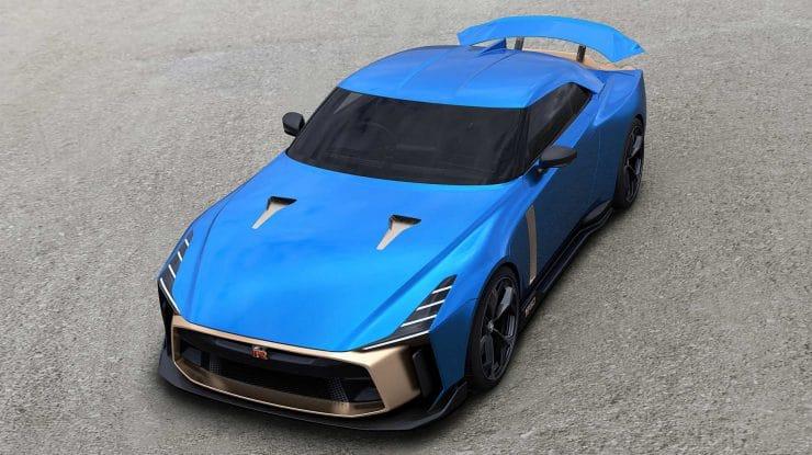 Nissan GT-R50 by Italdesign – în producția de serie (video)