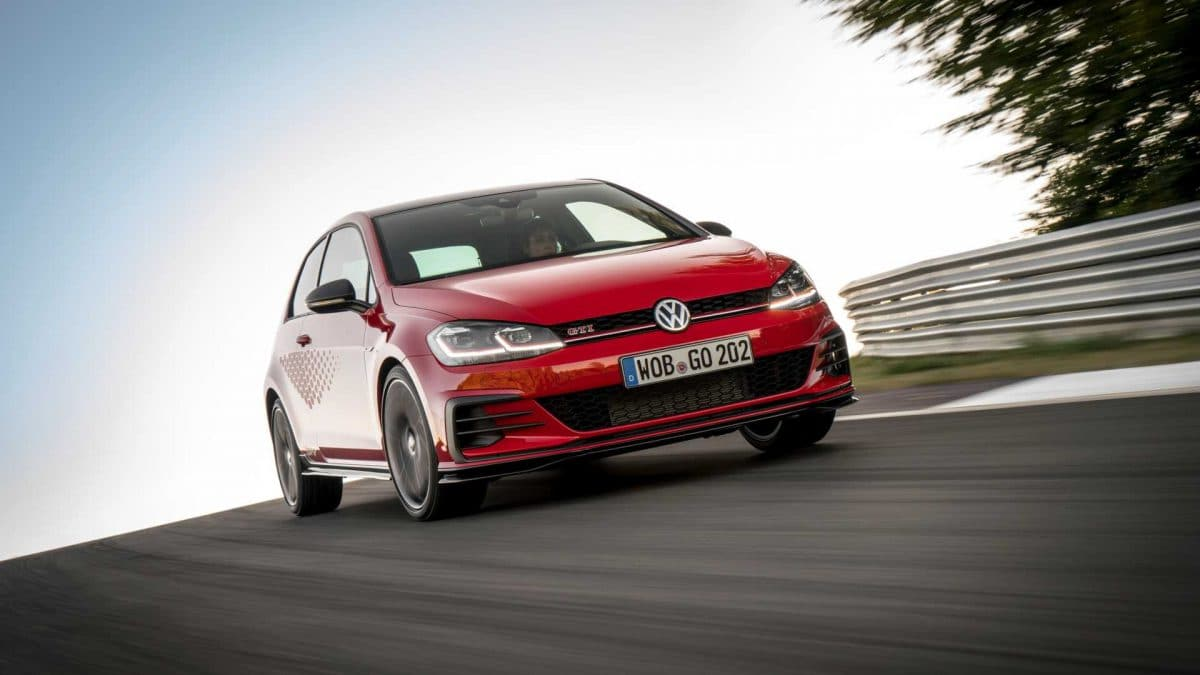 VW GTI TCR, gata de curse… stradale (video)